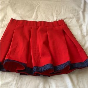 SIZE S Hype and Vice Tailgate Skirt